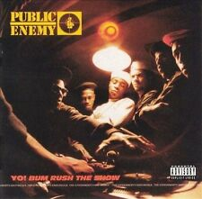 Yo! Bum Rush the Show [PA] by Public Enemy (CD, May-1995, Def Jam (USA))