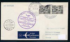 62392) LH  Polar FF Osaka Japan - Düsseldorf 3.4.69, Brief ab Schweden SP