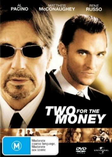 1 of 1 - Two For The Money - DVD ss Region 4 Good Condition