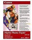 Canon MP-101 (A3) Matte Photo Paper (40 Sheets)