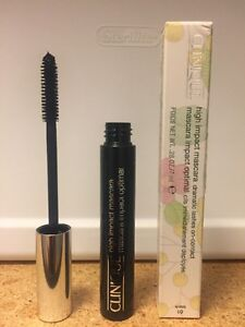 4776b1d2177 Clinique High Impact Mascara 01 Black 0.28oz/7ml Full Size New In ...
