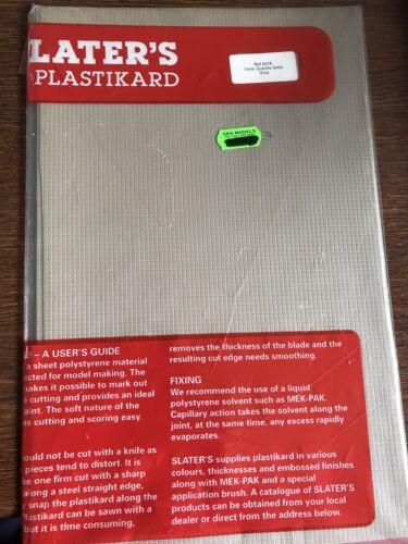 Slaters Plastikard 0418 7mm scale Granite Setts  Ref