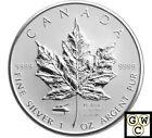 2005 VE Privy Mark Silver Maple Leafs 1oz .9999 Fine (NT) (11661)