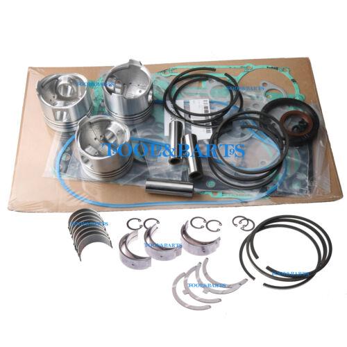 Piston + Ring + Bearing + Gasket Kit für Kubota D750 Motor