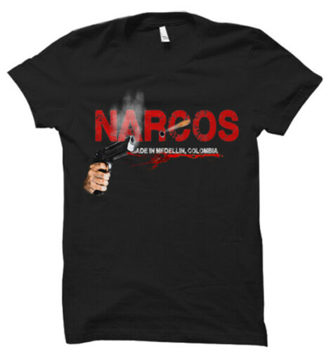 Narcos Made in Medellin Colombie T-shirt hommes