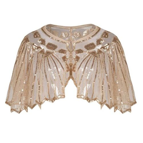 womens Banquet evening dress sequined stage wedding dress Fashion wrap shawl