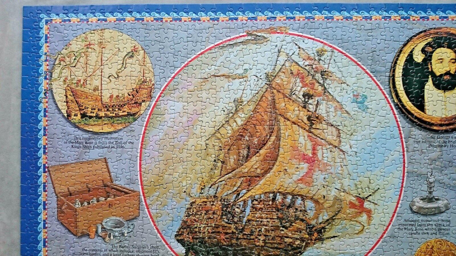 Mary Rosa  1000 Piece  Jigsaw by Arrow 1982 1982 1982 ad0b28