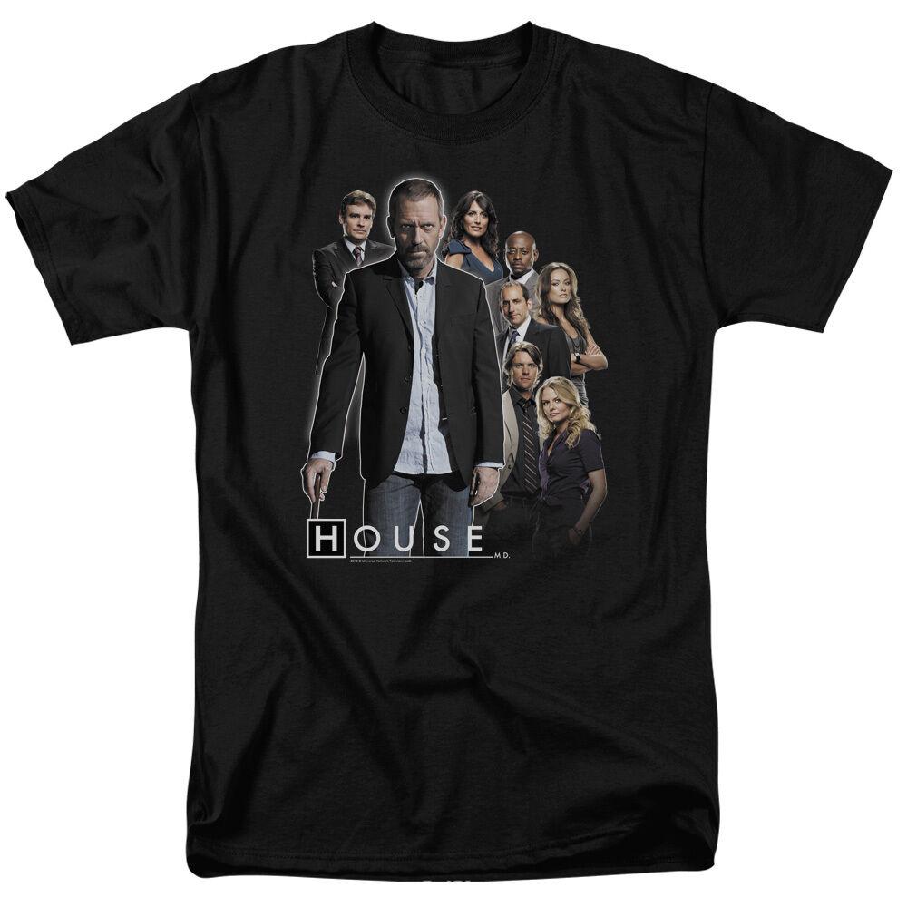 House TV Show Original Cast & CREW Licensed T-Shirt All Größes