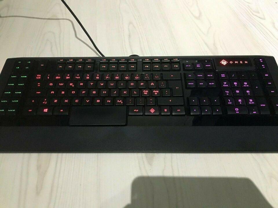 Tastatur, Omen x Steelseries Keyboard, Perfekt