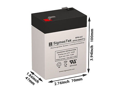 Lithonia Q4 Compatible Replacement Battery