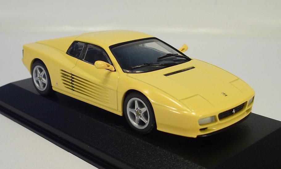 Minichamps (pma) 1 43 Ferrari 512 tr jaune Jaune OVP  9802