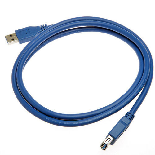 USB 3.0 Super Speed A Male to A Female Extension Cable 5 Feet 1.5 Meters