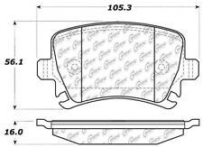 Disc Brake Pad Set-C-TEK Ceramic Brake Pads Rear Centric 103.11080