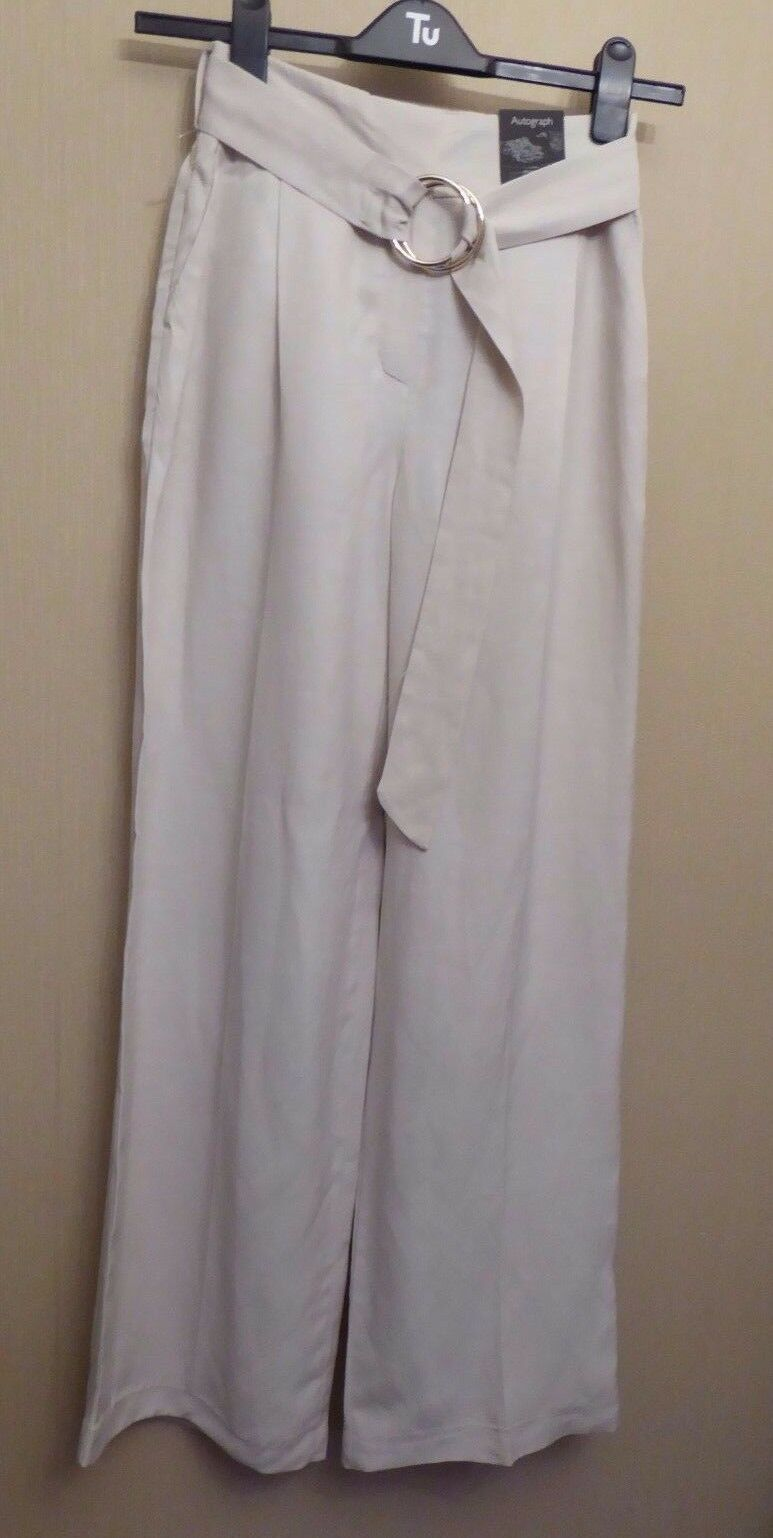 Marks & Spencer Autograph UK6 18 20 EU34 46 48 US2 14 16 new neutral trousers