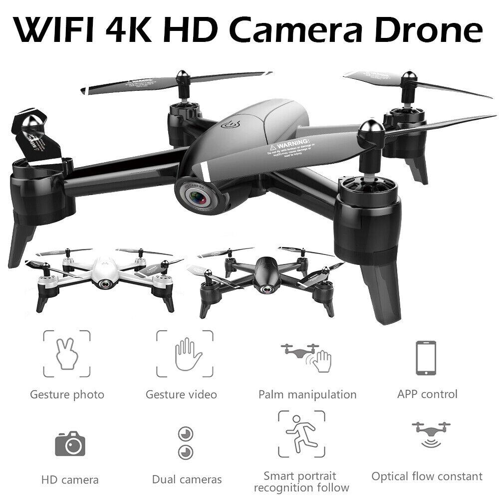 22Min  fly Tempo doppia fototelecamera SG106 Drone 4K HD 2.4G FPV WiFi greangolare  shopping online e negozio di moda