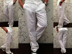 Tessuto Di Estate Chino Lino Pantaloni Uomo Kickdown Per Jeans In fTvUwq