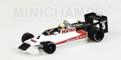 March 792 f2 K. hoshlno 1979 1 43 Model MINICHAMPS