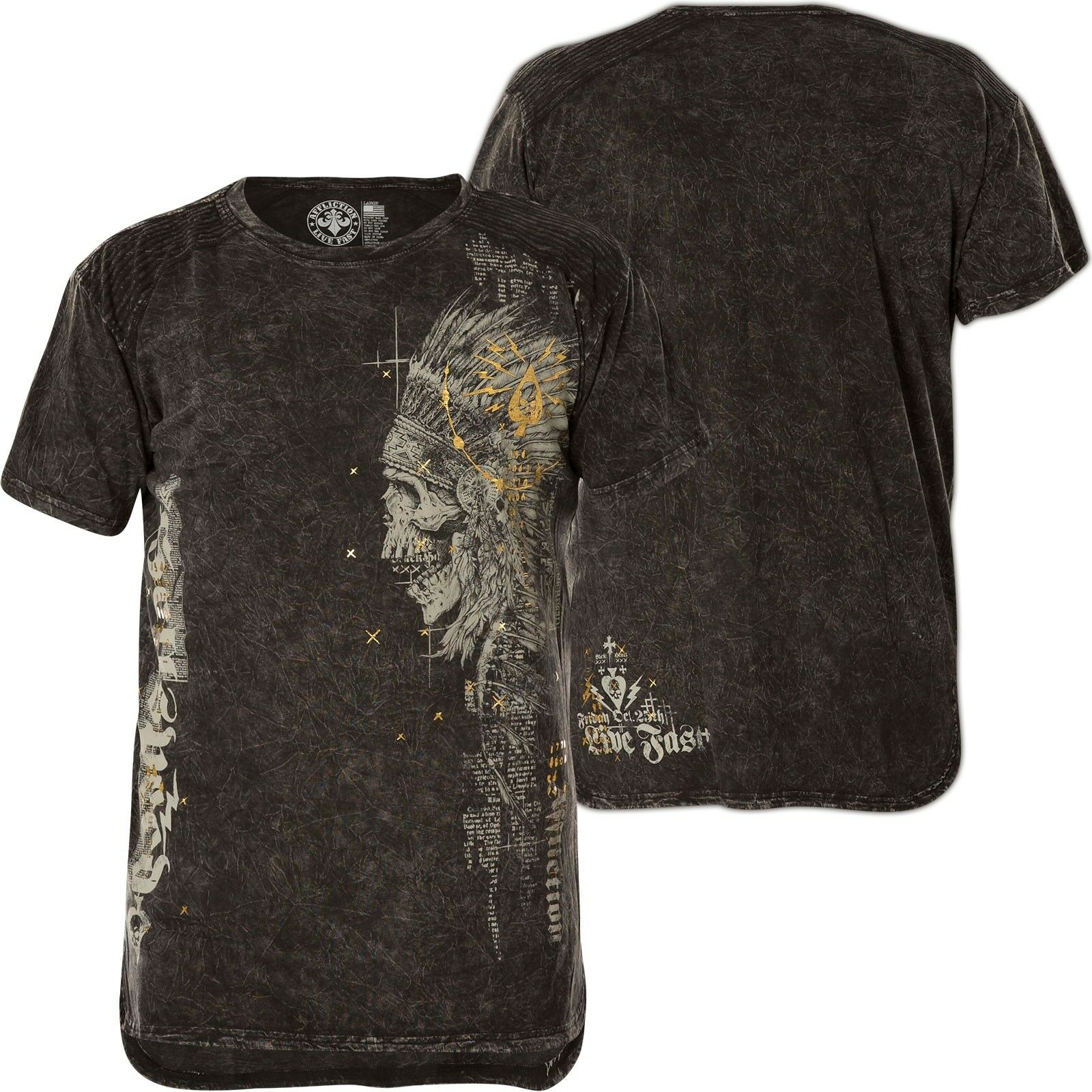 Affliction T-shirt hellspeed TRIBE NERO T-shirts