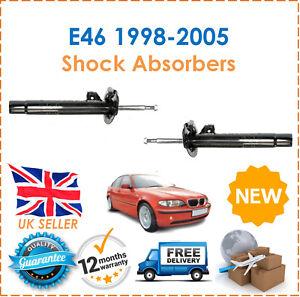 Para-BMW-E46-316i-318i-320D-1998-2005-2-Frontales-Gasolina-Amortiguadores-Set