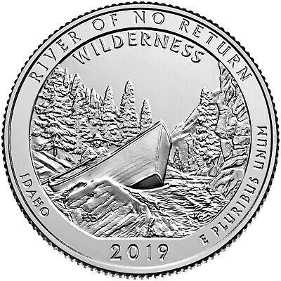 """2019 P /""""River of No Return/"""" Idaho Quarter US Mint /""""Brilliant Uncirculated/"""" ATB"""
