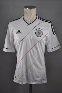 sale uk great prices best choice Details zu Deutschland Trikot 2012 Gr. S Adidas Weiß EM Jersey Home DFB  Germany