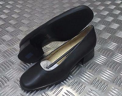 Británico Auténtico militar mujer Servicios Vestido Liso Zapatos de cuero