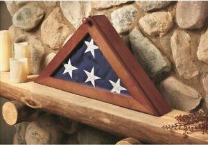 Burial-Flag-Display-Case-For-American-Us-Military-Veteran-Funeral-Memorial-Flag