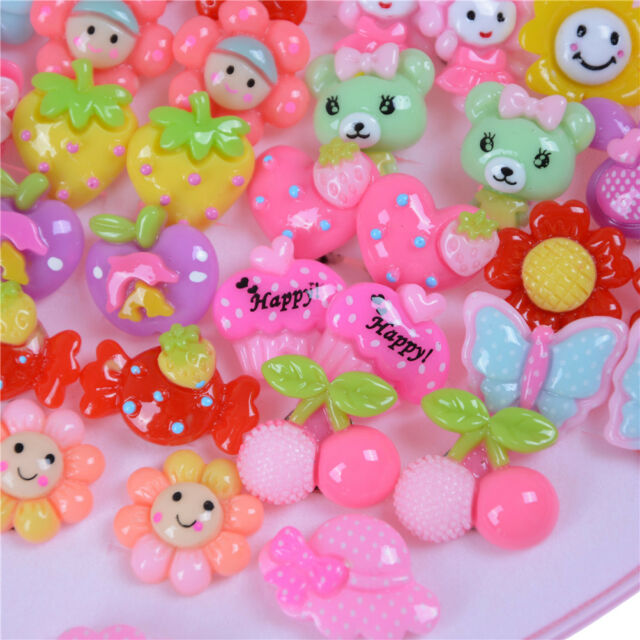 20pairs Cute Clip On No Pierced Earrings For Kids Child S Christmas Gift Mu