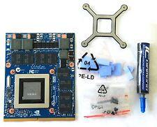 Dell Precision M6800 VGA Upgrade Kit; NEW NVIDIA GTX 980M; 8GB DDR5; MXM 3.0b