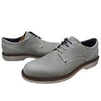 Ecco Mens Ian Plain Toe Lace Up Derby Business Casual Dress Shoes