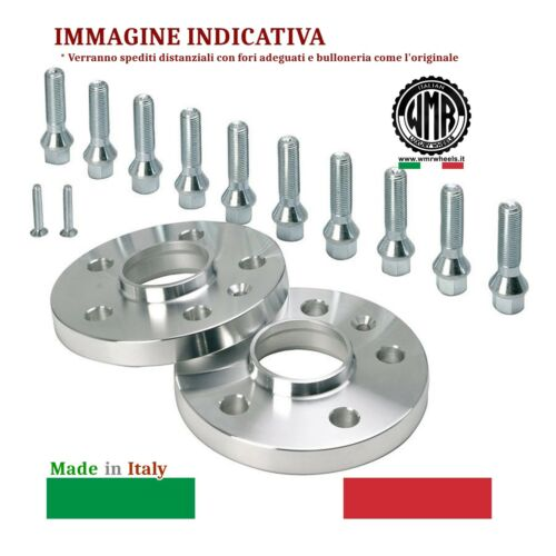 M14X1,50 CONICO 60° ... ME20B162 WMR SPACERS DISTANZIALI DA 20 MM 5//112//66,6
