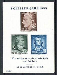 DDR-Plattenfehler-MiNr-Block-12-X-postfrisch-MNH-F857