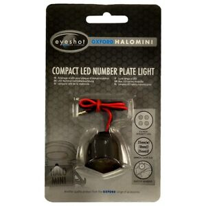 Oxford-Motorcycle-Eyeshot-Compact-LED-Number-Plate-Light-Halo-Mini-OX113-T