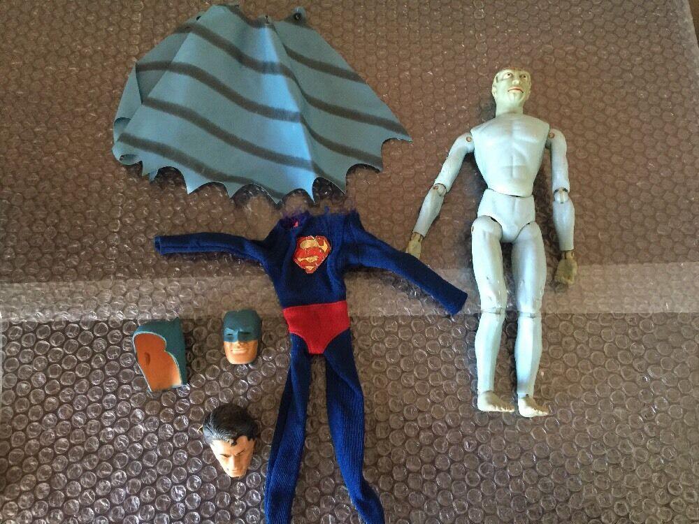 Captain aktion 60er - sets  dr. evil batman   super - mann viel junk yard los