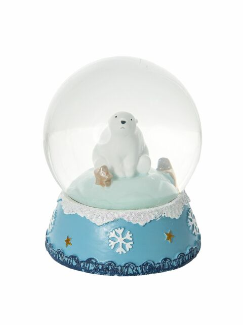 Mousehouse Polar Bear Snow Globe Christmas Home Decoration Xmas Gift Present