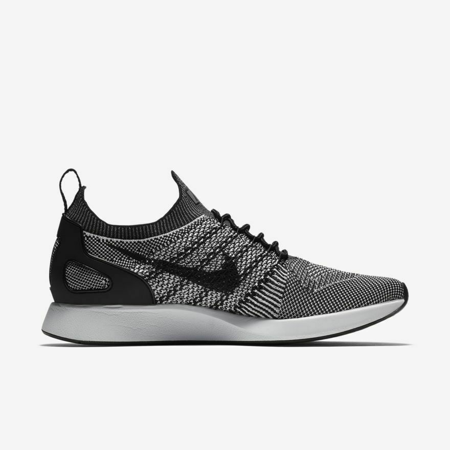 Nike Air Zoom Mariah Flyknit Racer Oreo Running shoes 918264-015 Size 10 US