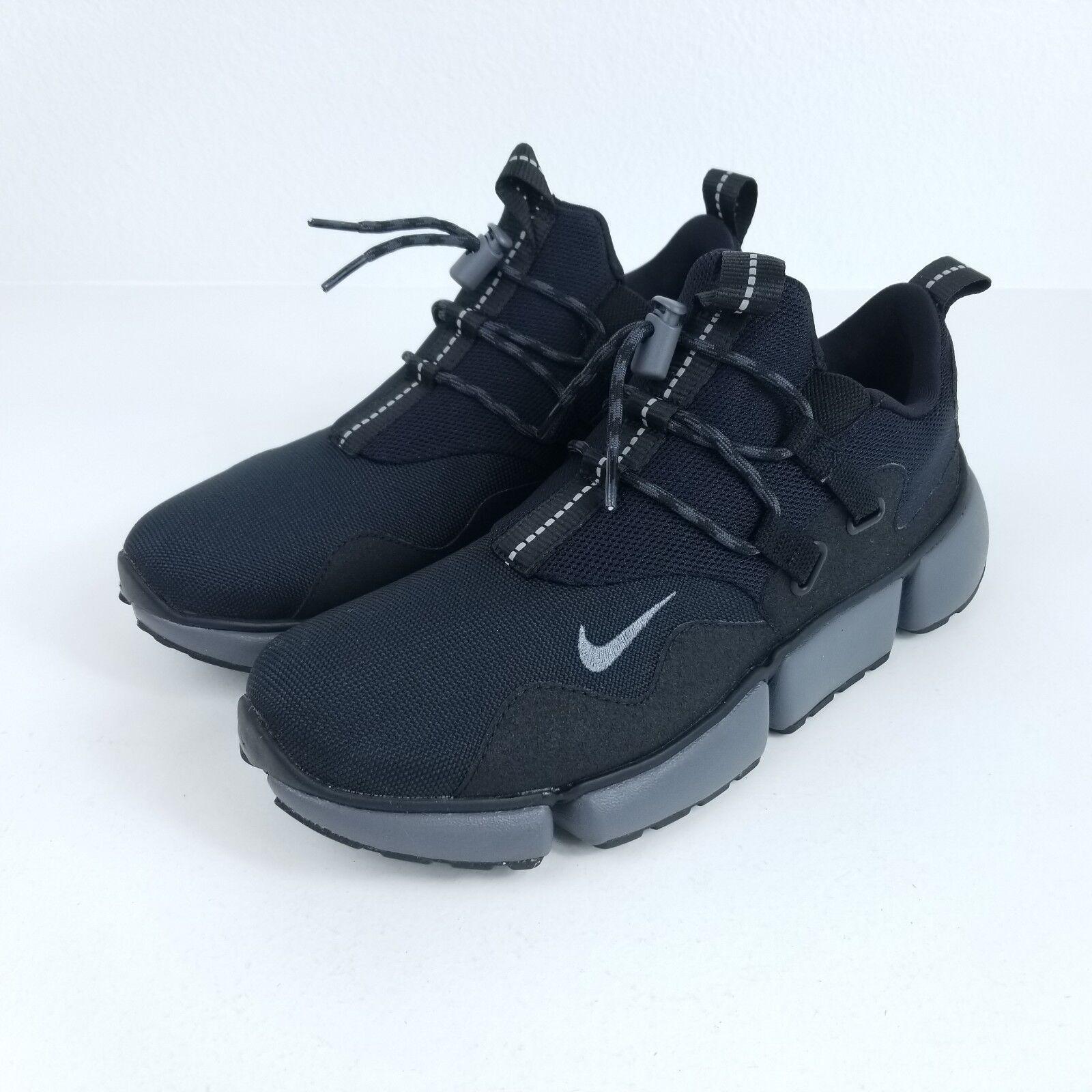 Nike navaja de bolsillo gris DM hombre sz 9,5 zapatos gris bolsillo negro 58617b
