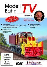 DVD Modellbahn TV - Ausgabe 32 + ModellBahnTV-Magazin