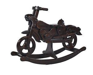 Marque nouvelle bascule moto jouet en bois massif cheval voyager tre mjmark