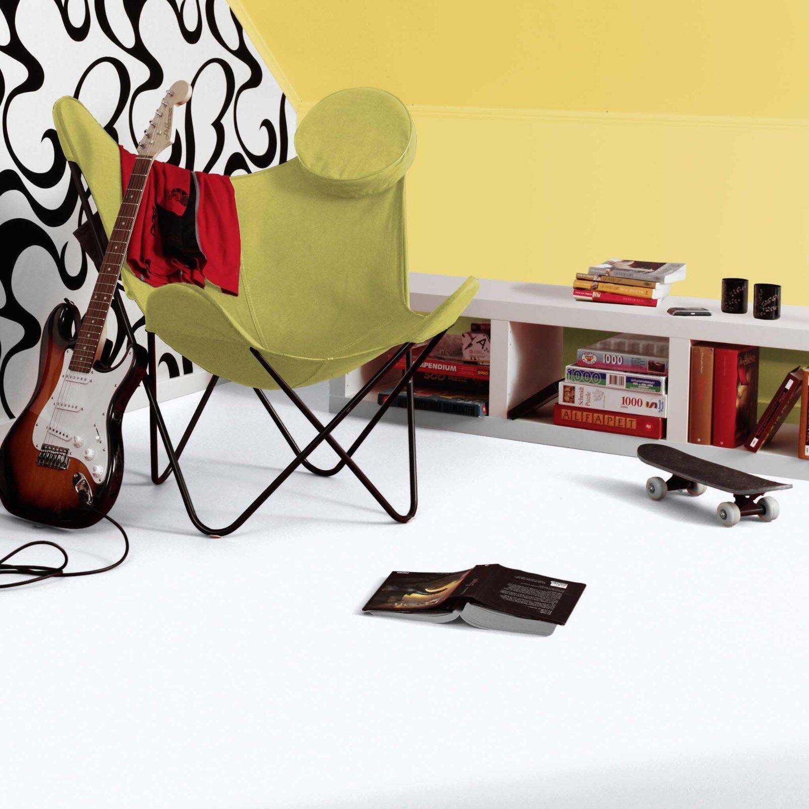 PVC Vinyl Bodenbelag Tarkett Exclusive 260 DJ Weiß Breite 200 cm  -   m²