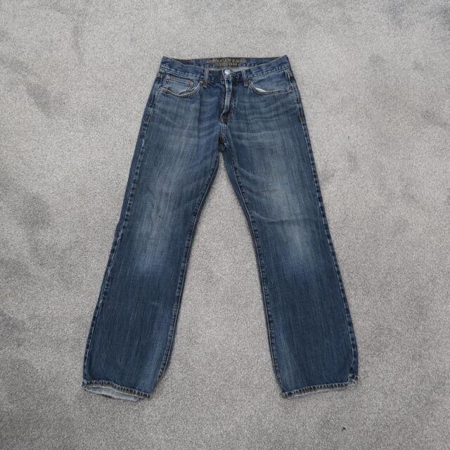 American Eagle Original Bootcut Light Wash Men's Jeans 31x32 Distressed