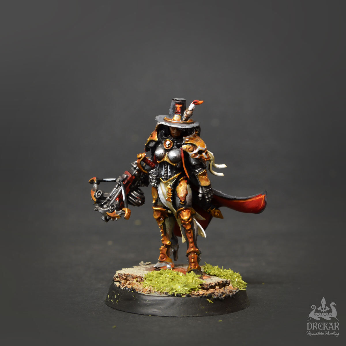 INQUISITOR GREYFAX warhammer 40K  COMMISSION  painting