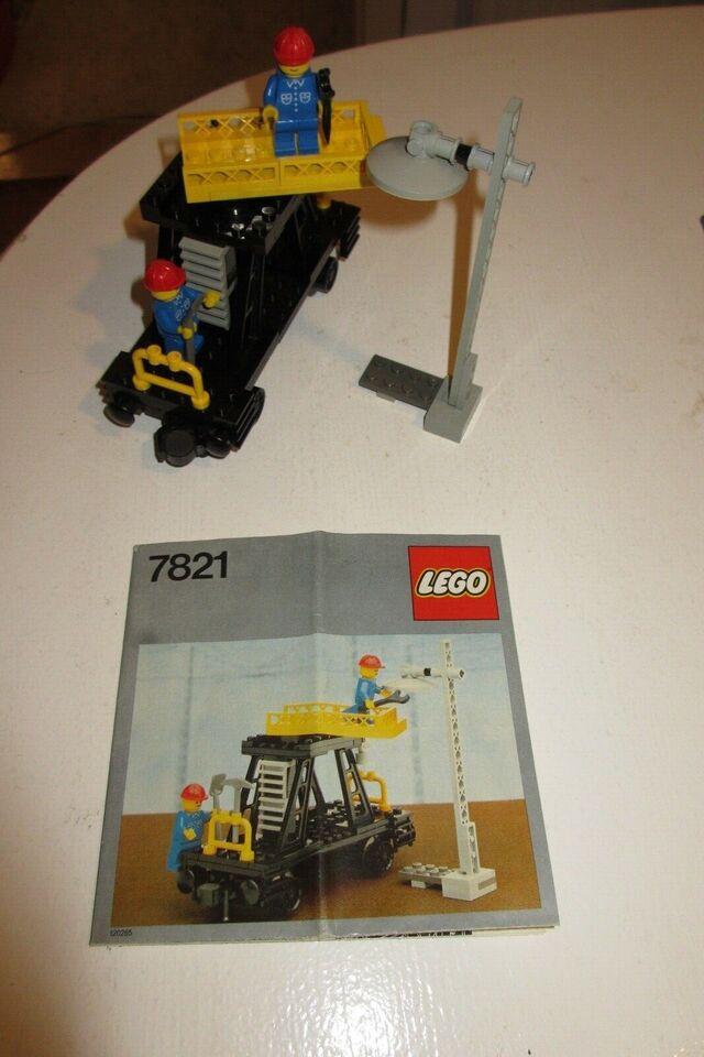 Lego Tog, 7821