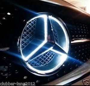 Mercedes light up emblem