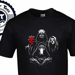 Bohemio-Lado-Oscuro-Camiseta-reina-Star-Wars-Mashup-NUEVO-RAHPSODY-JEDI-FUERZA