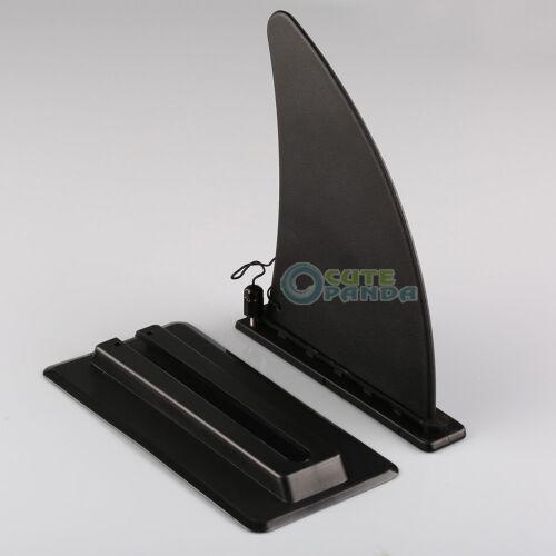 Large Kayak Skeg Tracking Fin Integral Fin Mounting Points Watershed Board Canoe