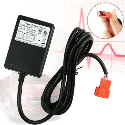 6V Battery Charger for 17034 17033 17044 Huffy BMW X6 Powered Ride ON Toy Cars