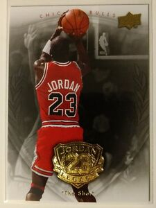 2009-10-UPPER-DECK-Michael-Jordan-Gold-Legacy-Collection-36-034-The-Shot-034