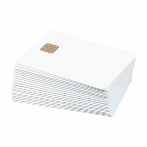 SLE 4428 PVC Card Blank Contact IC smart Card 10 pcs//lot