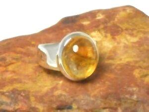 Citrine-Sterling-Silber-925-Edelstein-Ring-Groesse-M